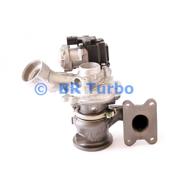Taastatud turbokompressor AUDI A3 1.4 P