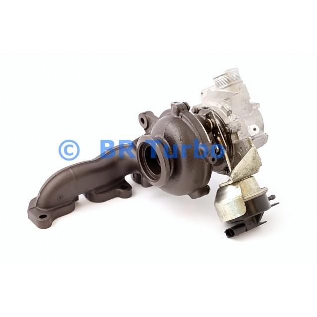 Taastatud turbokompressor AUDI A3 2.0 D