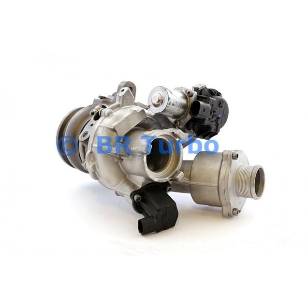 Taastatud turbokompressor AUDI A4 2.0 P