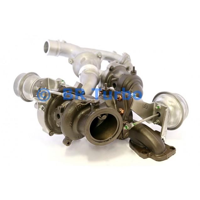 Taastatud turbokompressor CADILLAC BLS (Europe) 1.9 DTR
