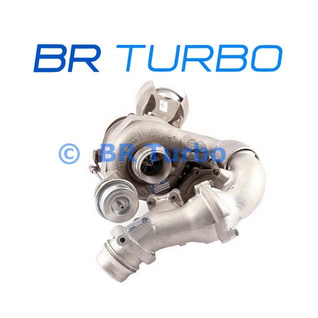 Taastatud turbokompressor BORGWARNER | 10009880074RS