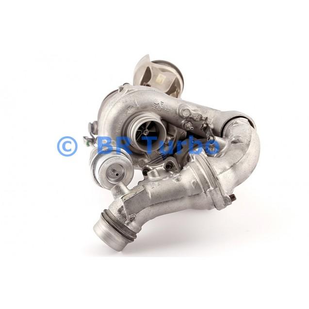 Taastatud turbokompressor BORGWARNER | 10009880076RS