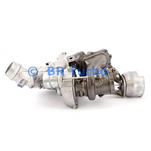 Taastatud turbokompressor MERCEDES PKW E300 2.1 D BlueTec Hybrid