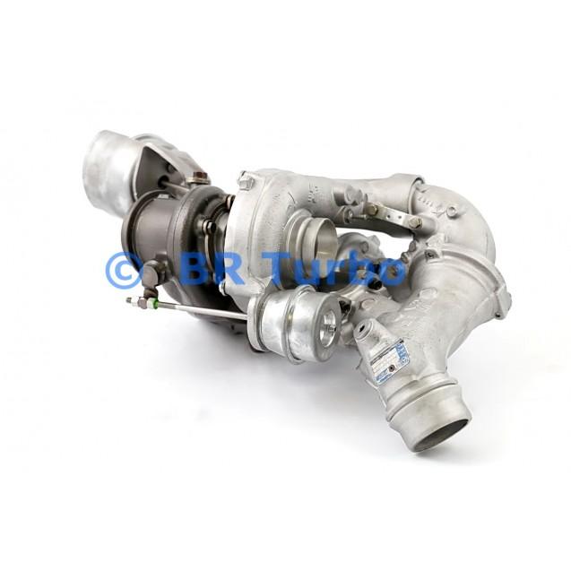 Taastatud turbokompressor MERCEDES PKW E Class 2.1 D E 300 BlueTec Hybrid