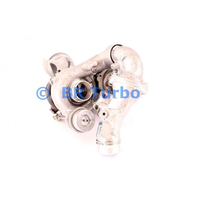 Taastatud turbokompressor BORGWARNER | 10009880166RS