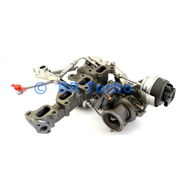 Taastatud turbokompressor BORGWARNER | 10009930102RS