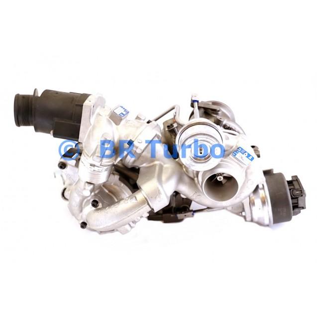 Taastatud turbokompressor BORGWARNER | 10009930115RS