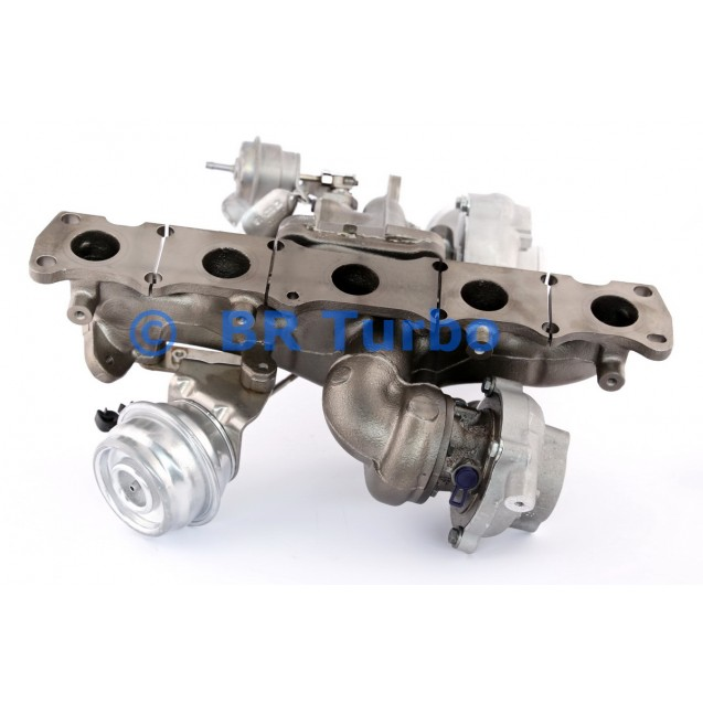 Taastatud turbokompressor BORGWARNER   10009980164RS