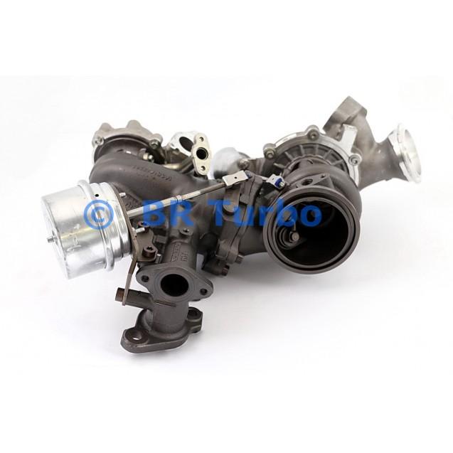 Taastatud turbokompressor BORGWARNER | 10009980228RS