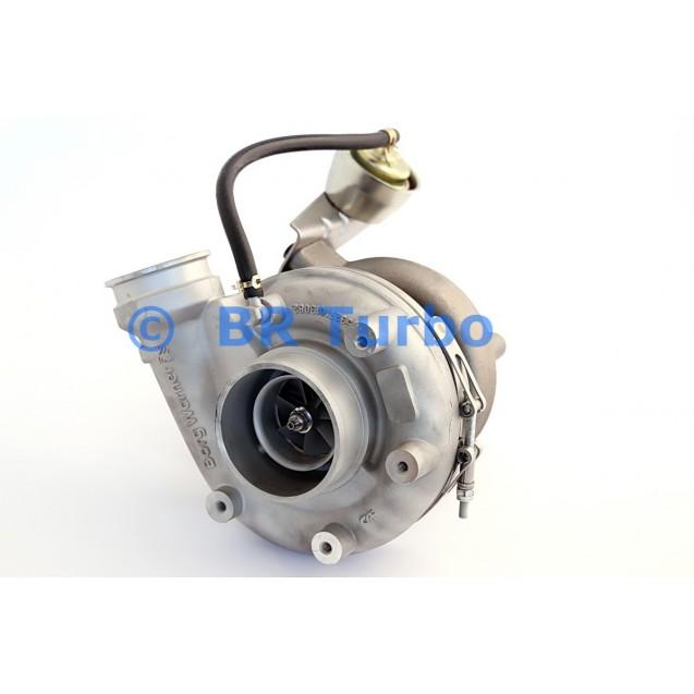 Taastatud turbokompressor BORGWARNER | 12709880050RS