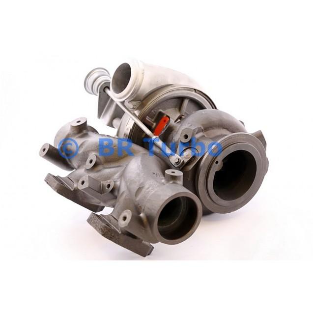 Taastatud turbokompressor MERCEDES LKW Truck 12.9 D