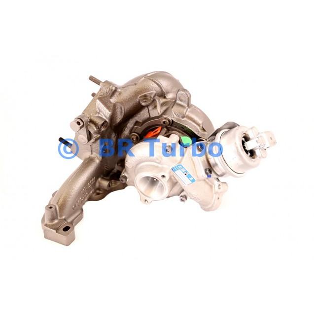 Taastatud turbokompressor BORGWARNER | 16359880018RS