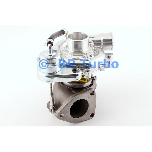 Taastatud turbokompressor TOYOTA Hilux 2.5 D-4D