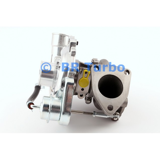 Taastatud turbokompressor TOYOTA Hiace 2.5 D-4D
