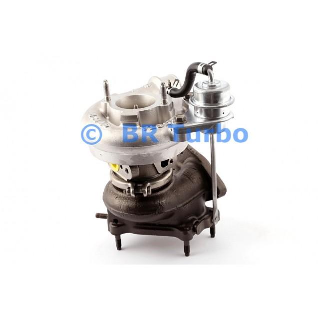 Taastatud turbokompressor TOYOTA 4 Runner 2.9 TD