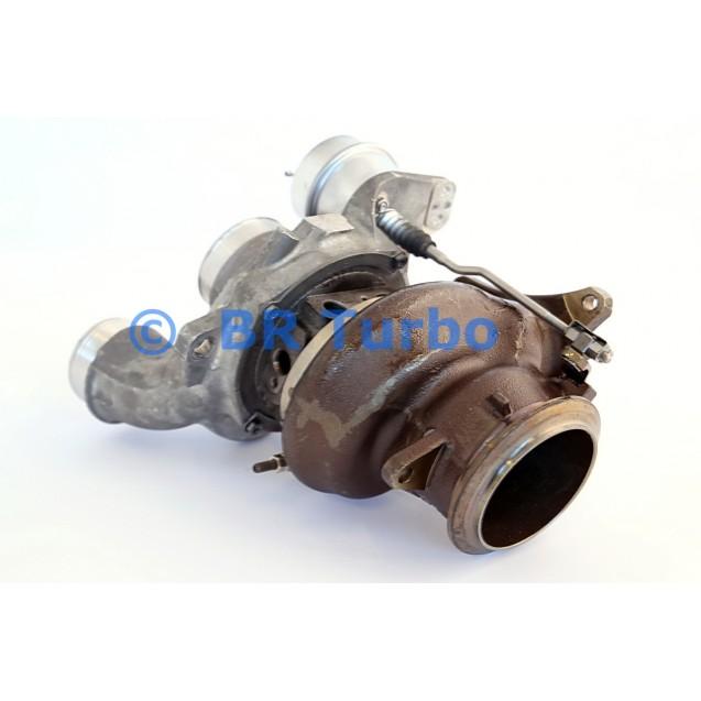 Taastatud turbokompressor BORGWARNER | 18559880013RS