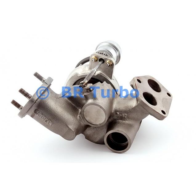 Taastatud turbokompressor LAND ROVER Discovery I 2.5 TDI