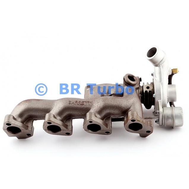 Taastatud turbokompressor GARRETT   452084-5001RS