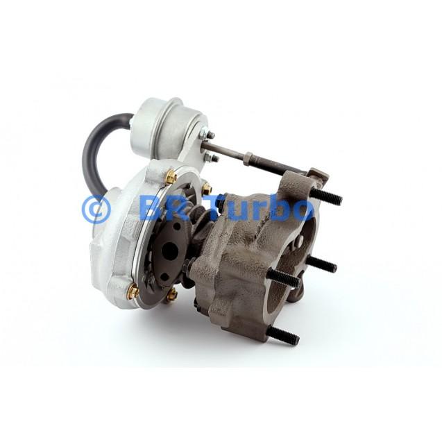 Taastatud turbokompressor GARRETT | 452151-5001RS