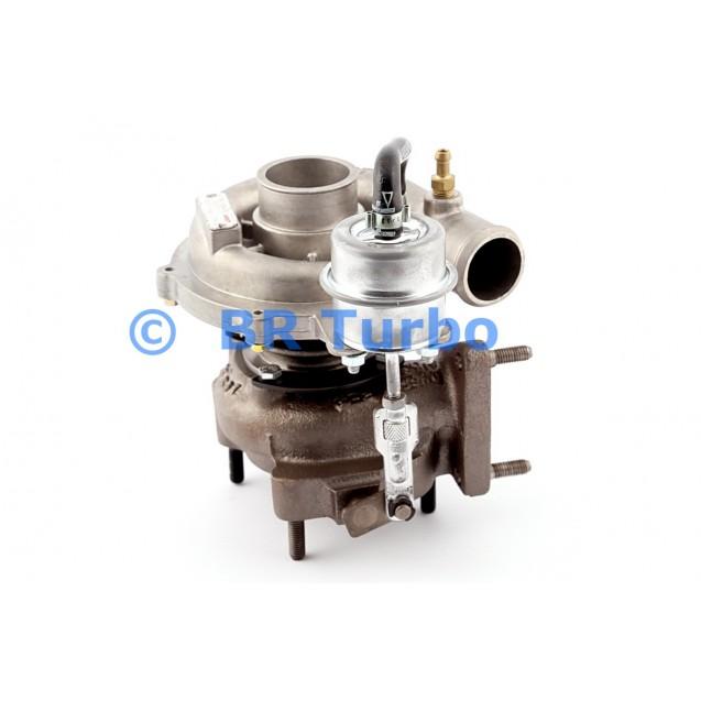 Taastatud turbokompressor DAF 400 2.0 Di