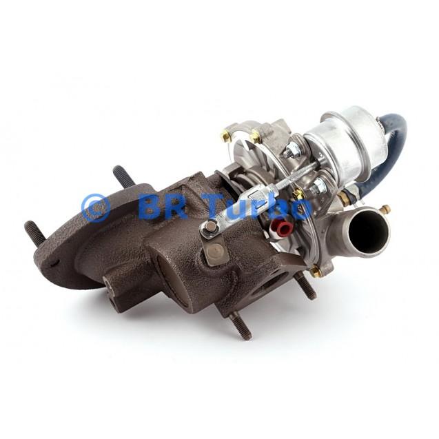 Taastatud turbokompressor DAF 45 2.0 iDT/MK I