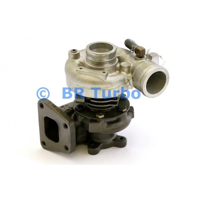 Taastatud turbokompressor GARRETT   454002-5001RS