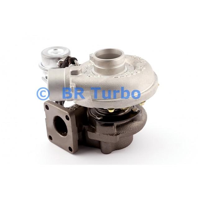 Taastatud turbokompressor GARRETT | 454061-5001RS