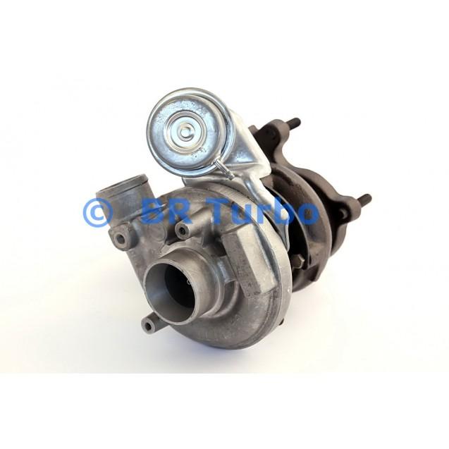 Taastatud turbokompressor AUDI Cabrio 1.9 Cabrio D
