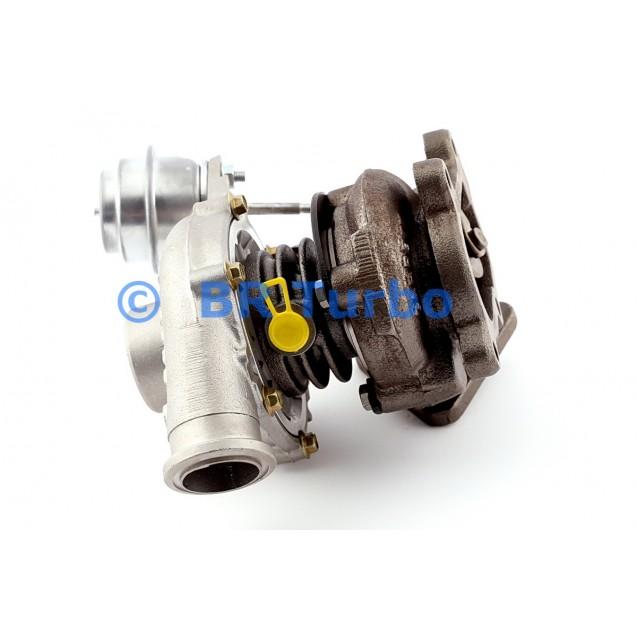 Taastatud turbokompressor OPEL Zafira A 2.0 DI