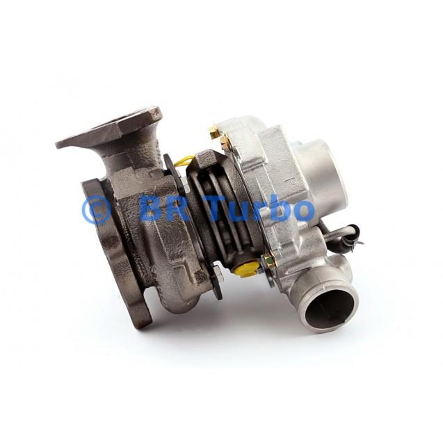 Taastatud turbokompressor GARRETT | 454187-5001RS