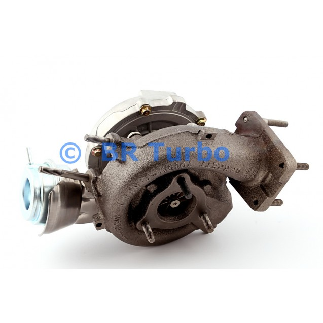 Taastatud turbokompressor GARRETT | 454205-5001RS