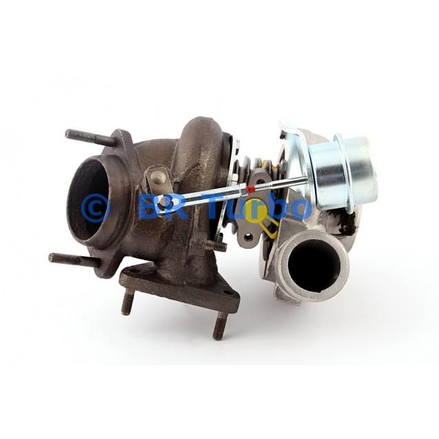 Taastatud turbokompressor GARRETT   454207-5001RS