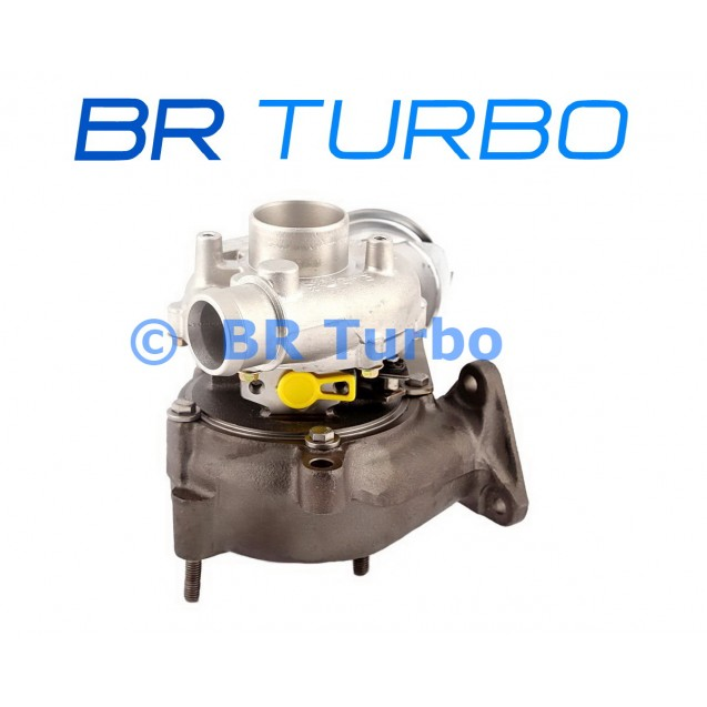 Taastatud turbokompressor AUDI A6 1.9 TDI