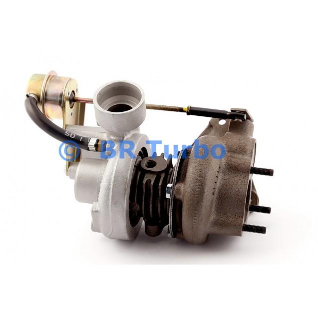 Taastatud turbokompressor PEUGEOT 605 2.1 D