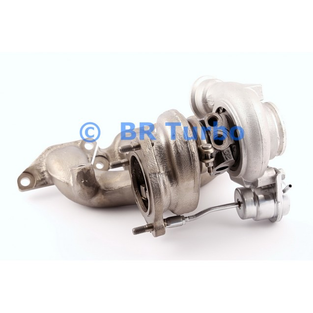 Taastatud turbokompressor MITSUBISHI | 4913105061RS
