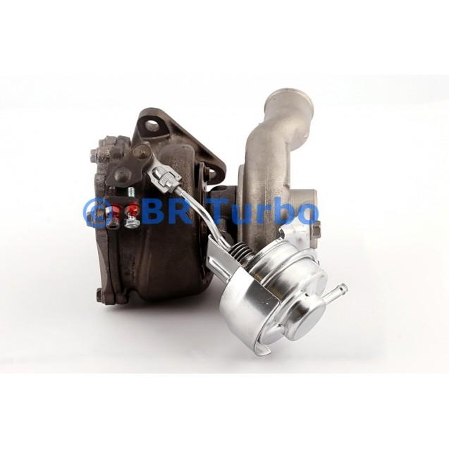 Taastatud turbokompressor OPEL Meriva A 1.7 CDTI