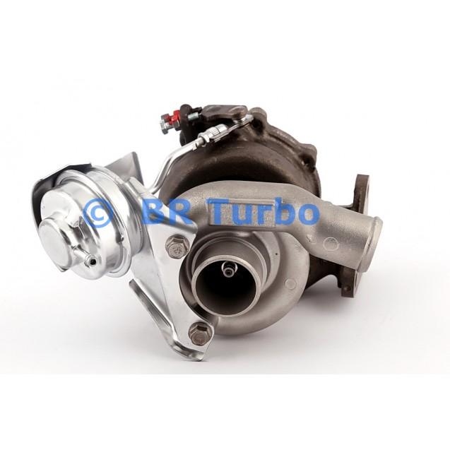 Taastatud turbokompressor OPEL Astra H 1.7 CDTI