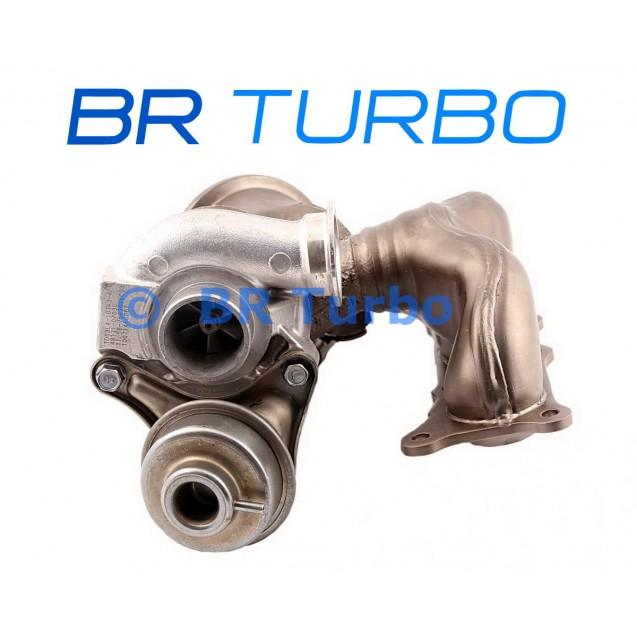 Taastatud turbokompressor BMW 535 i 3.0 535i