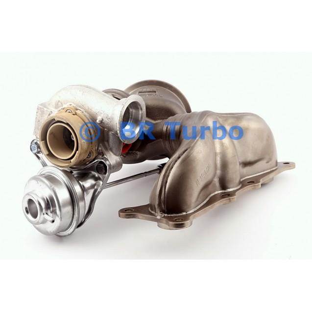 Taastatud turbokompressor BMW 740 i 3.0 (F01)