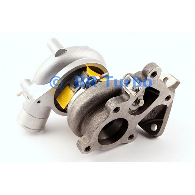 Taastatud turbokompressor MITSUBISHI L 200 2.5 TD 4x4 (K6_T)
