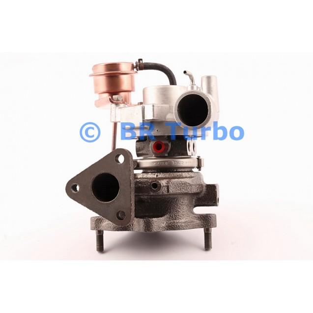 Taastatud turbokompressor MITSUBISHI Delicia 2.8 D