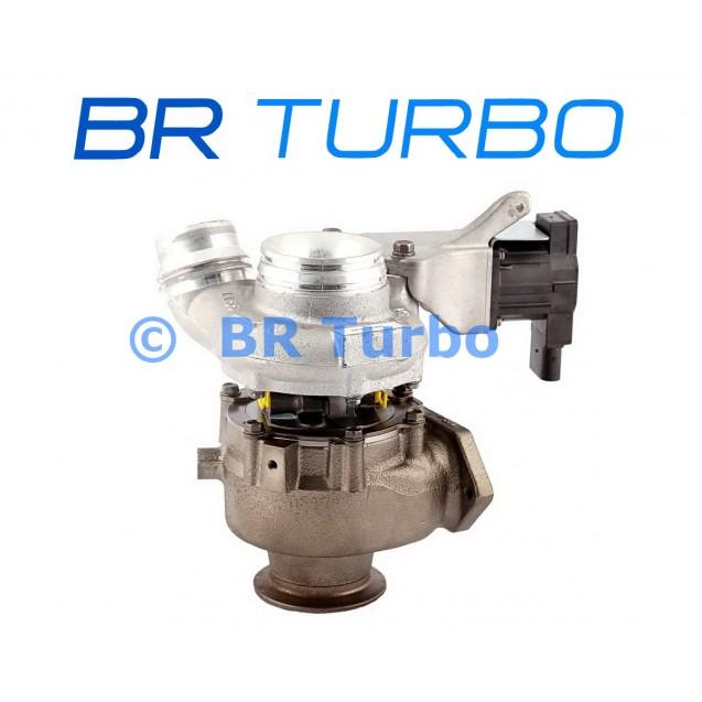 Taastatud turbokompressor BMW X3 2.0 D (E83N)