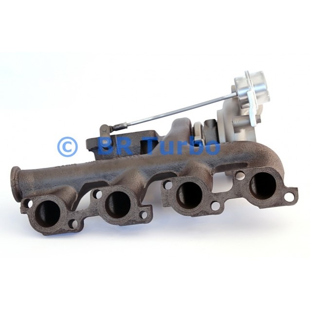 Taastatud turbokompressor FORD Transit 2.4 D