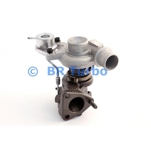 Taastatud turbokompressor KIA Rio 1.4 CRDI