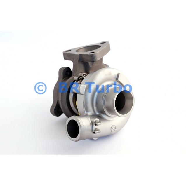 Taastatud turbokompressor MITSUBISHI Pajero I 2.5 TD