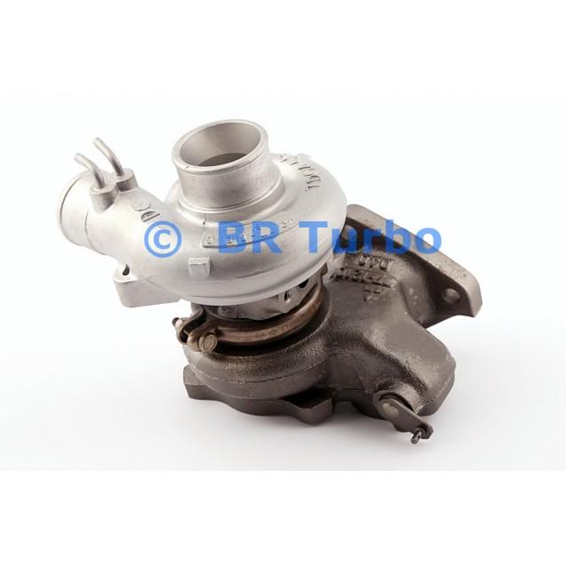 Taastatud turbokompressor MITSUBISHI L 200 2.5 D