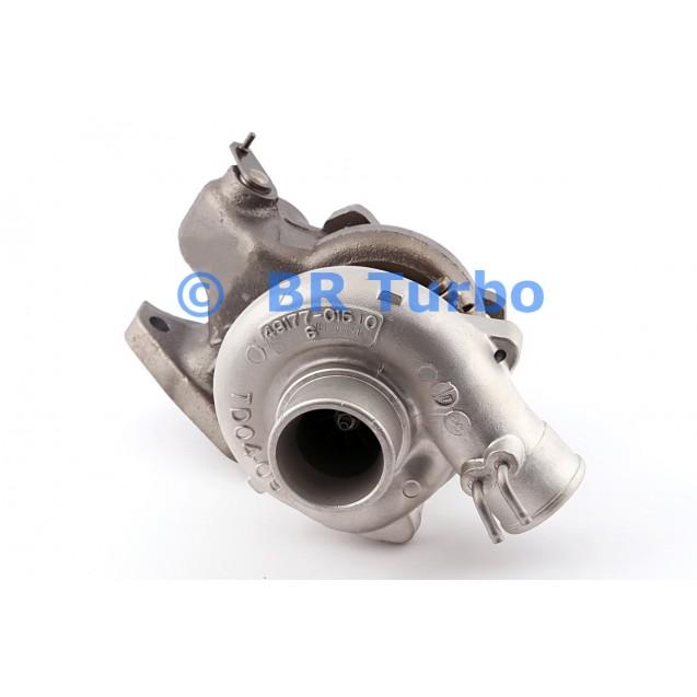 Taastatud turbokompressor MITSUBISHI Montero 2.5 D