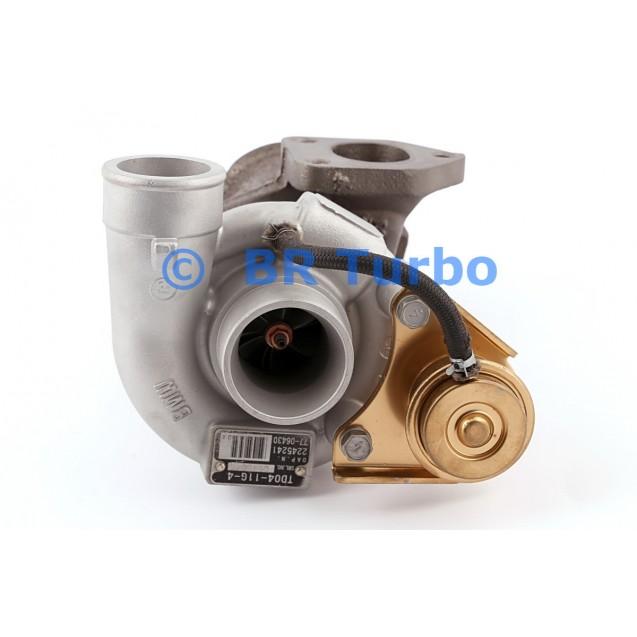 Taastatud turbokompressor LAND ROVER Range Rover 2.5 TDI
