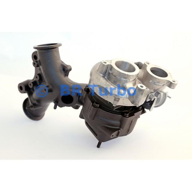 Taastatud turbokompressor RENAULT Laguna III 3.0 Dci