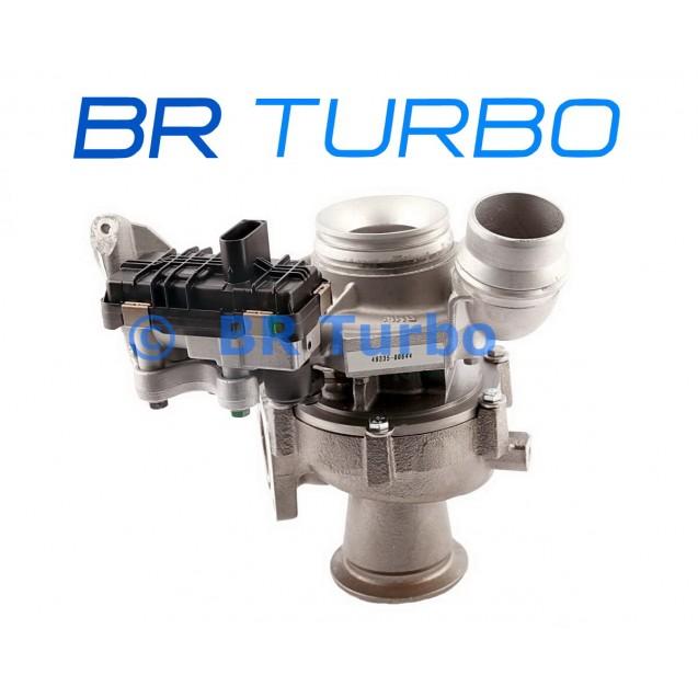 Taastatud turbokompressor BMW X3 2.0 D (F25)